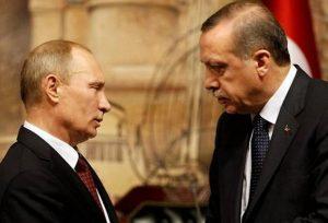 Επικοινωνία Πούτιν – Ερντογάν για την Ανατολική Μεσόγειο