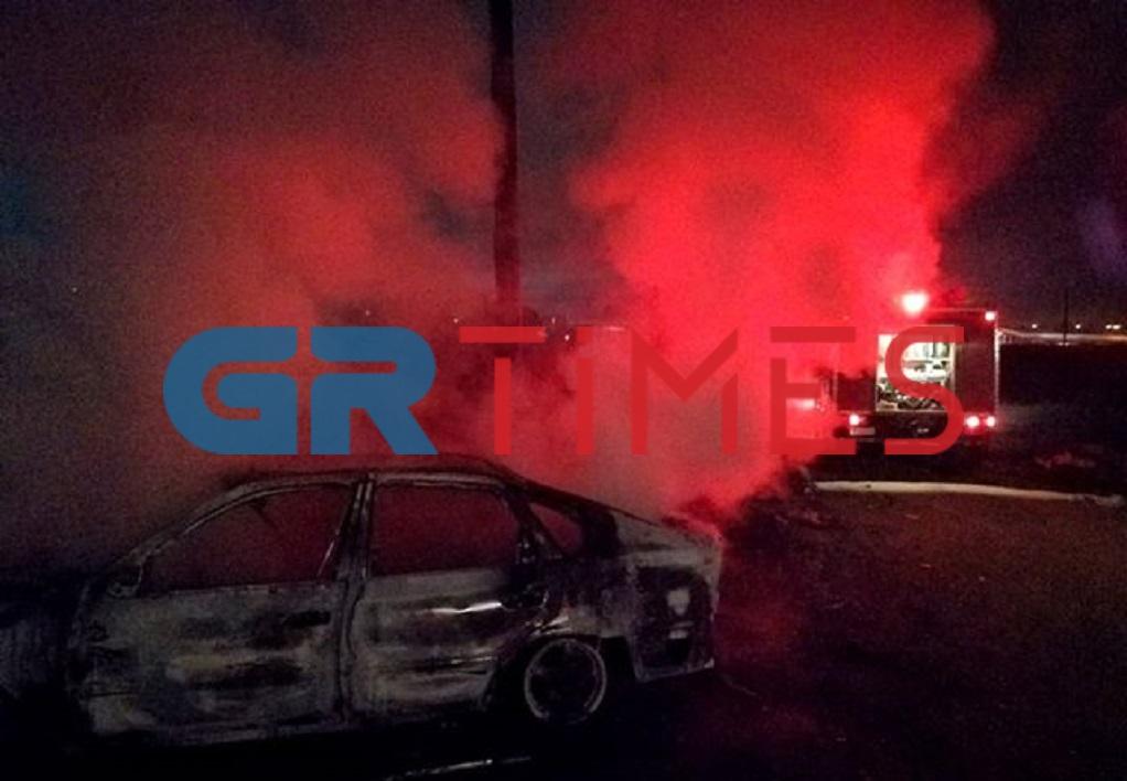 Πόντου: Πυρκαγιά σε ΙΧ τα ξημερώματα