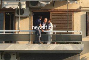 Γλυφάδα: Εργαζόμενος του ΕΚΑΒ απείλησε να πέσει στο κενό! (ΦΩΤΟ-VIDEO)