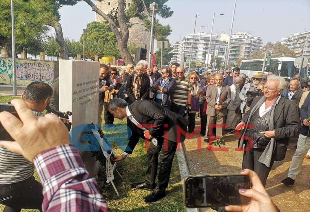 Θεσσαλονίκη: Φόρος τιμής στους αγωνιστές της αντίστασης (ΦΩΤΟ-VIDEO)
