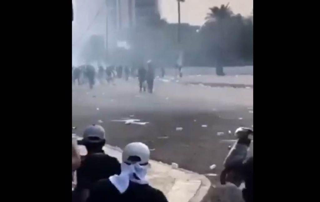 Η αντιτρομοκρατική στη Βαγδάτη για τους διαδηλωτές