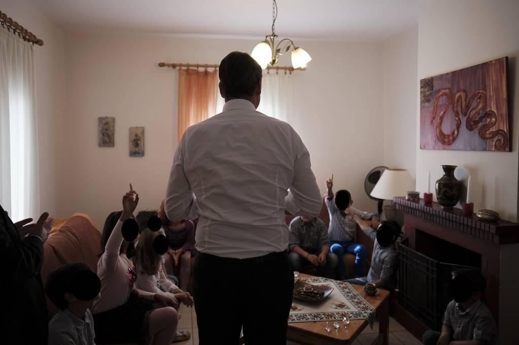 Στο Παιδικό Χωριό SOS στο Πλαγιάρι ο Κ.Μητσοτάκης