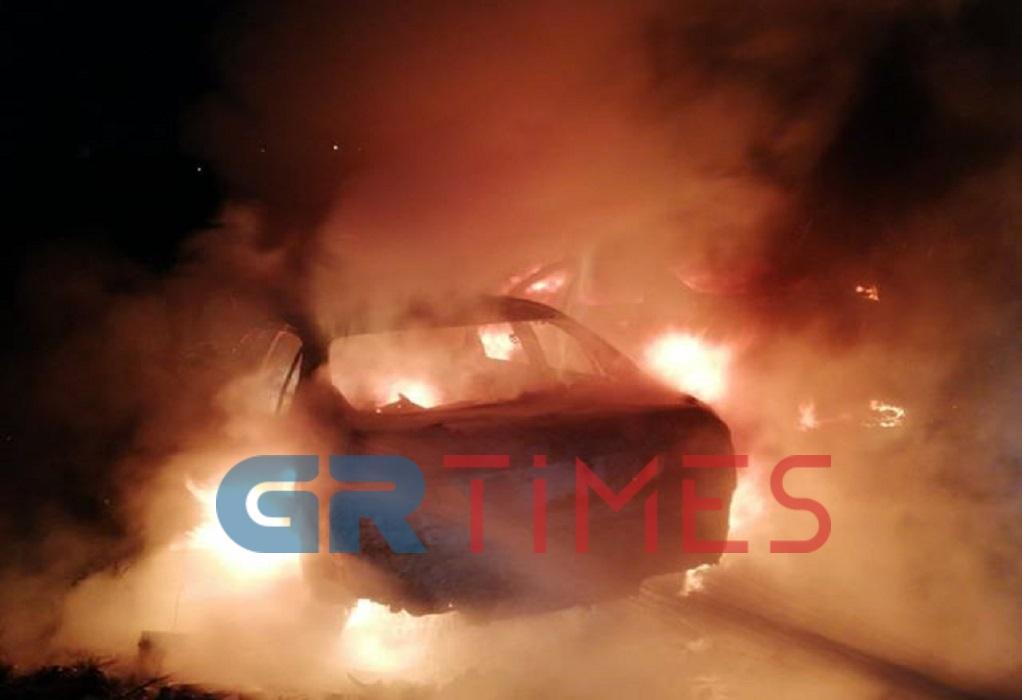 Θεσσαλονίκη: Πυρπόλησαν όχημα Τούρκου διπλωμάτη