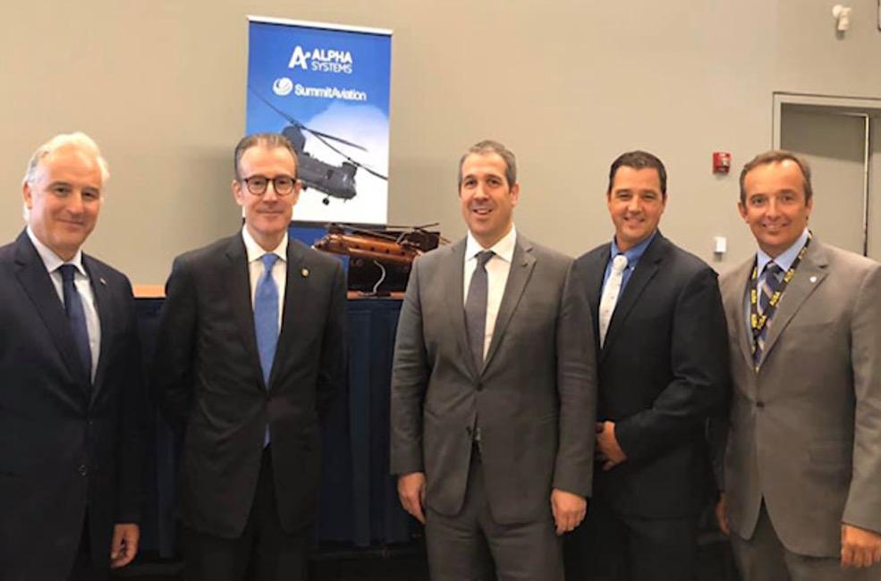 Σύμπραξη της Alpha Systems με την αμερικανική Summit Aviation