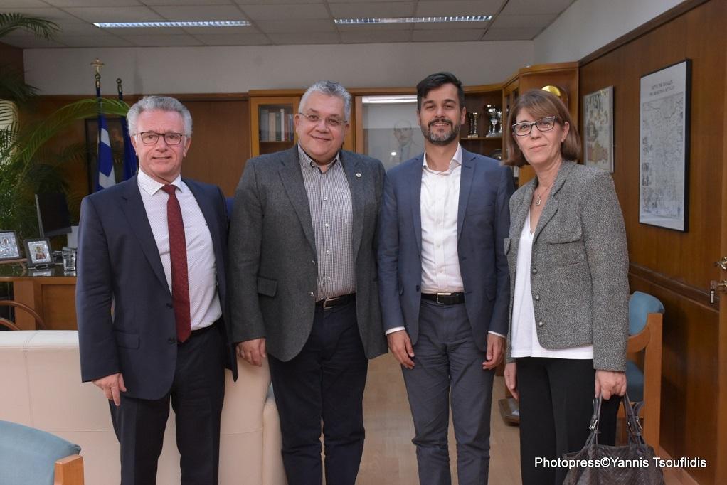Θεσσαλονίκη: Συνάντηση του Πρύτανη του ΑΠΘ με τον Γενικό Πρόξενο της Γαλλίας