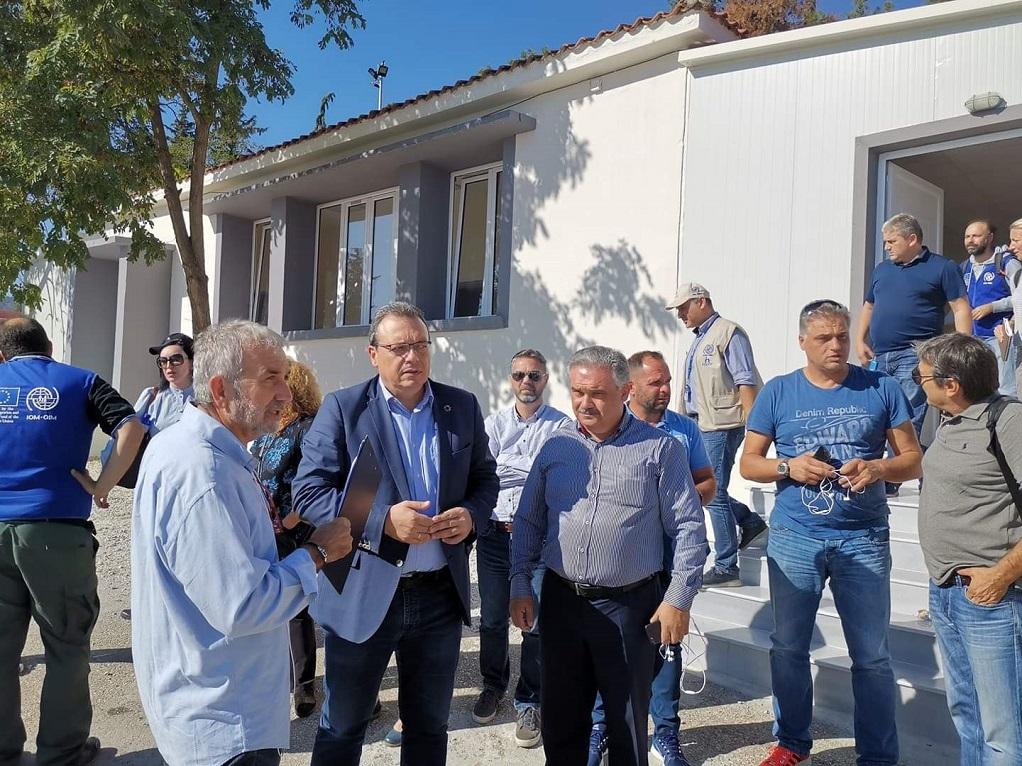 Επίσκεψη ΣΥΡΙΖΑ και Δήμου Βόλβης στη δομή φιλοξενίας προσφύγων στο Βαγιοχώρι