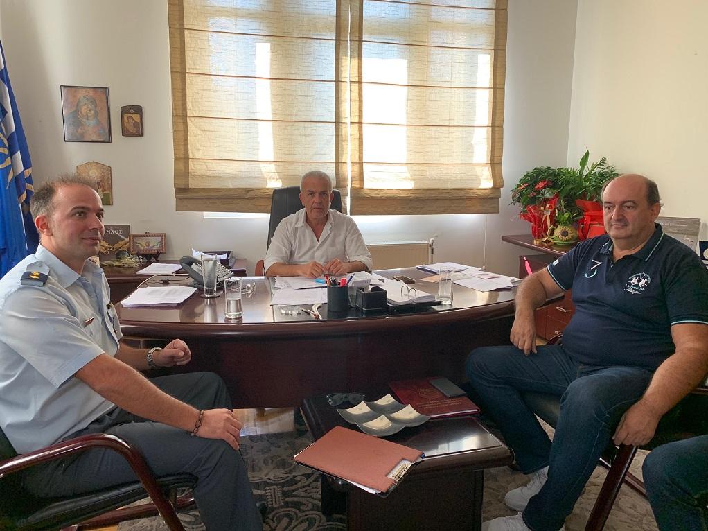 Συνάντηση του Δημάρχου Δήμου Δέλτα με εκπροσώπους της ΕΛΑΣ