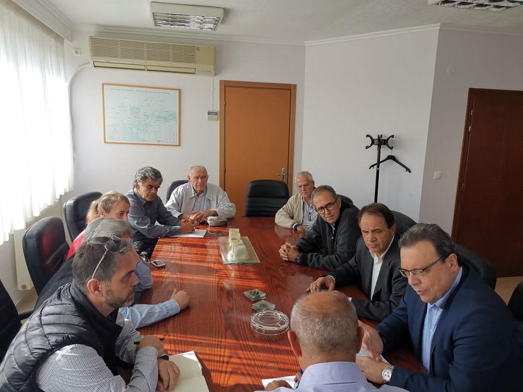 Επίσκεψη αντιπροσωπείας του ΣΥΡΙΖΑ στον Δήμο Λαγκαδά
