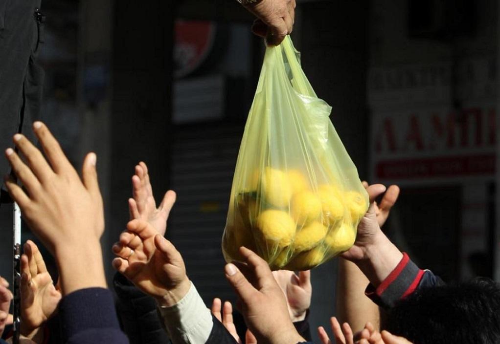 Ημαθία: Από αύριο η διανομή τροφίμων για απόρους