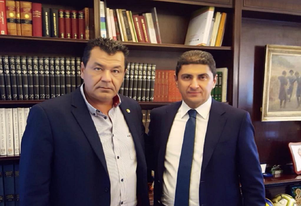 Συνάντηση Αυγενάκη με τον Δήμαρχο Φυλής