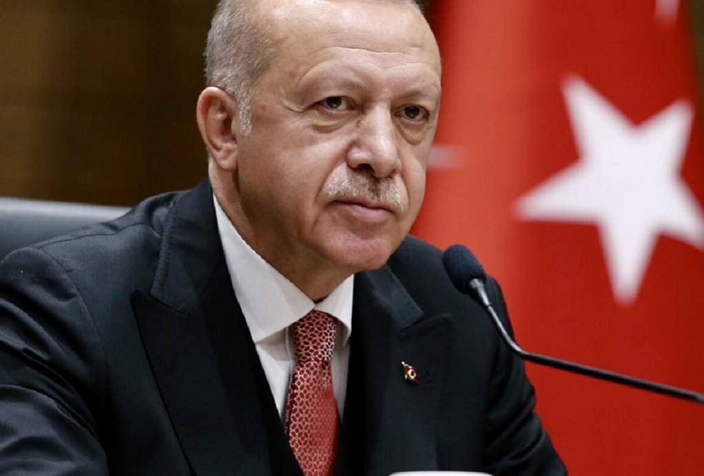Ερντογάν: Θα συνεχίσουμε τις πολεμικές επιχειρήσεις