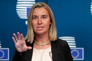 Φ. Μογκερίνι: Ομόφωνη απόφαση της ΕΕ για την Τουρκία