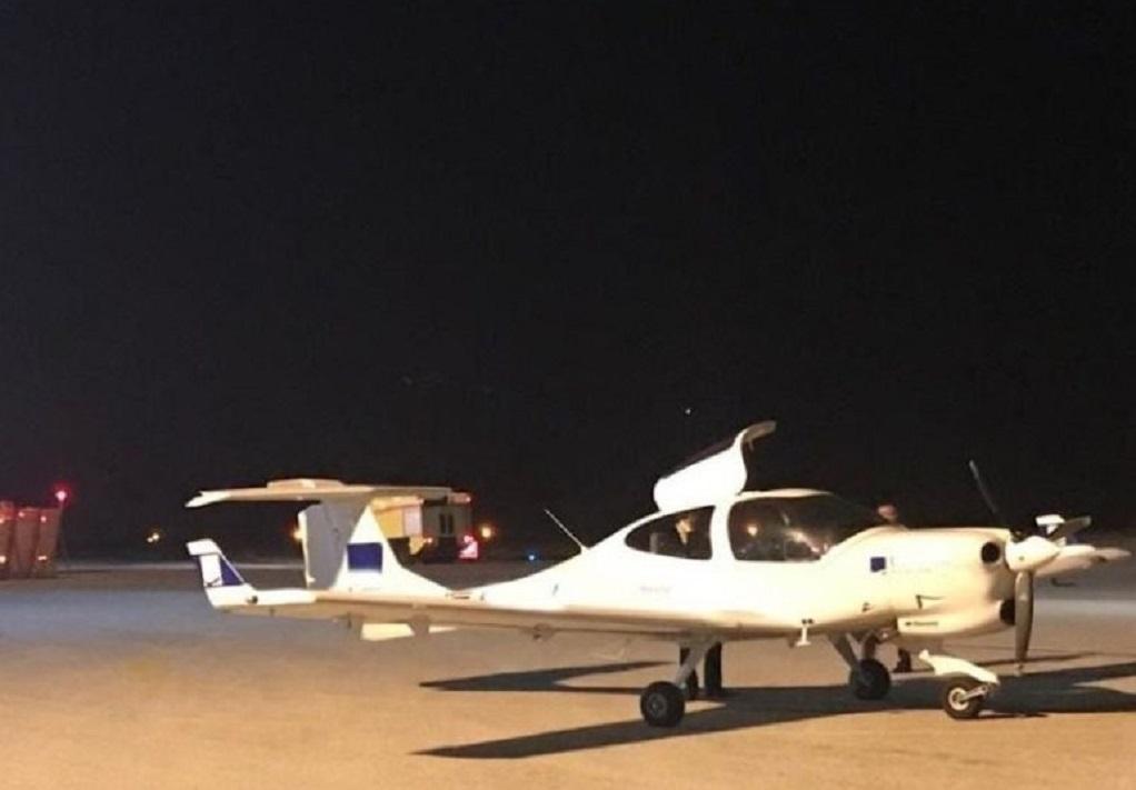 Μυτιλήνη: Αναγκαστική προσγείωση εκπαιδευτικού αεροσκάφους