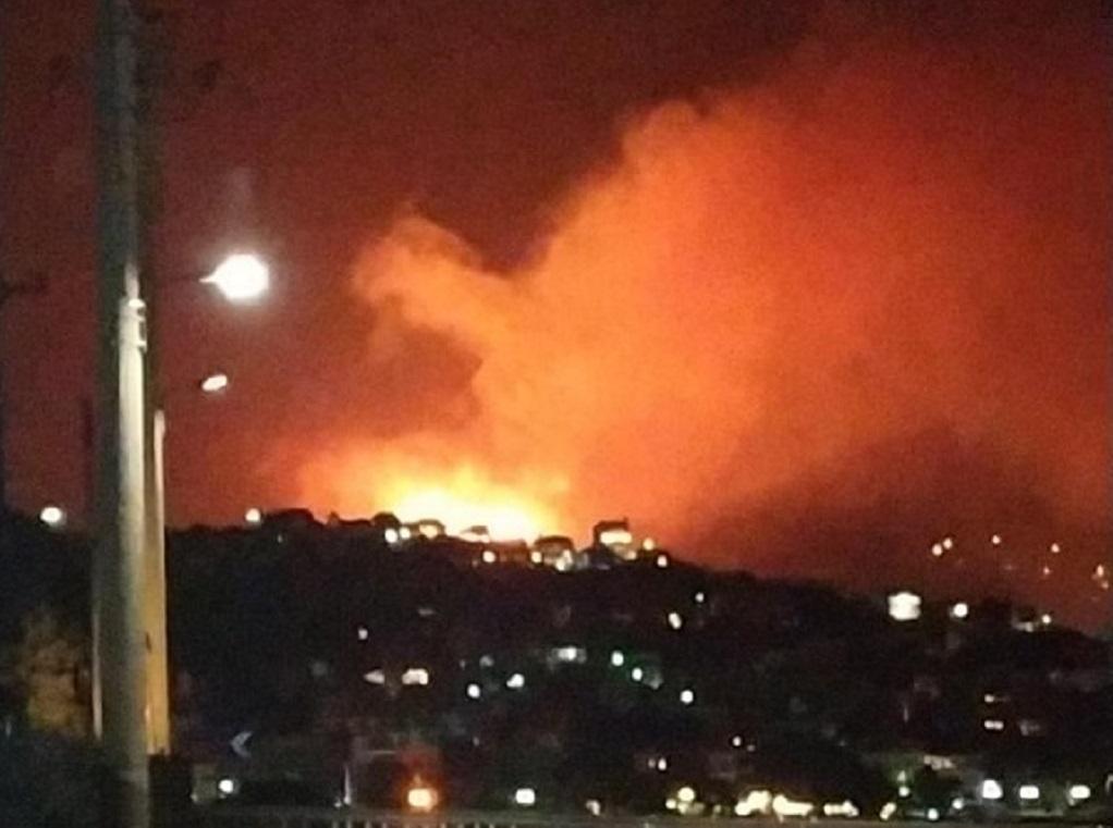 Πόρτο Ράφτη: Υπό μερικό έλεγχο η φωτιά