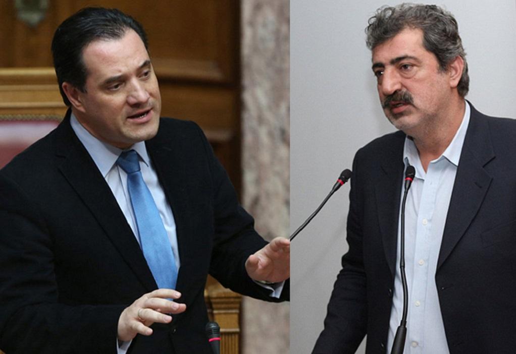 Χαμός στην βουλή με Πολάκη-Γεωργιάδη