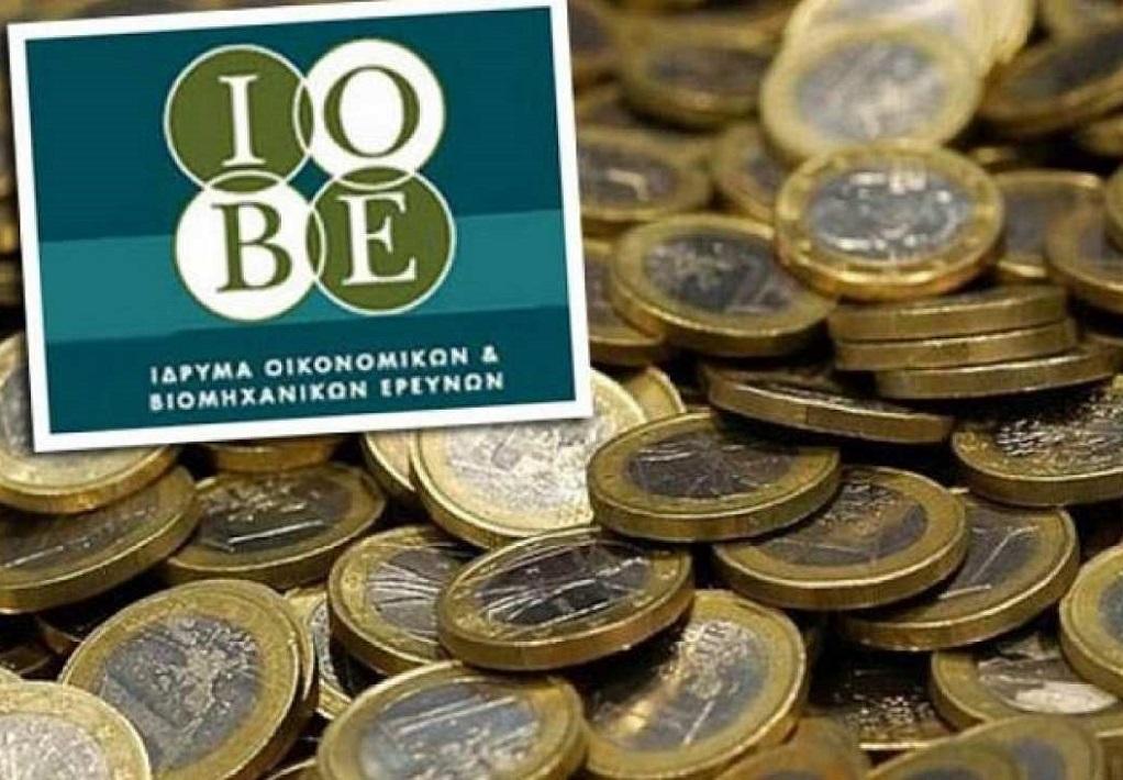 ΙΟΒΕ: Ελαφρά επιδείνωση του οικονομικού κλίματος στην Ελλάδα