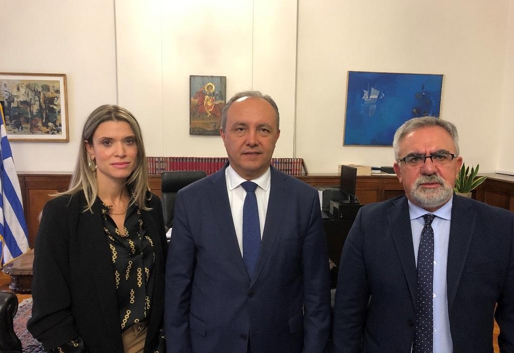 Θεσσαλονίκη: Συνάντηση του ΥΜΑΘ με τη διοίκηση της ΕΔΑ ΘΕΣΣ