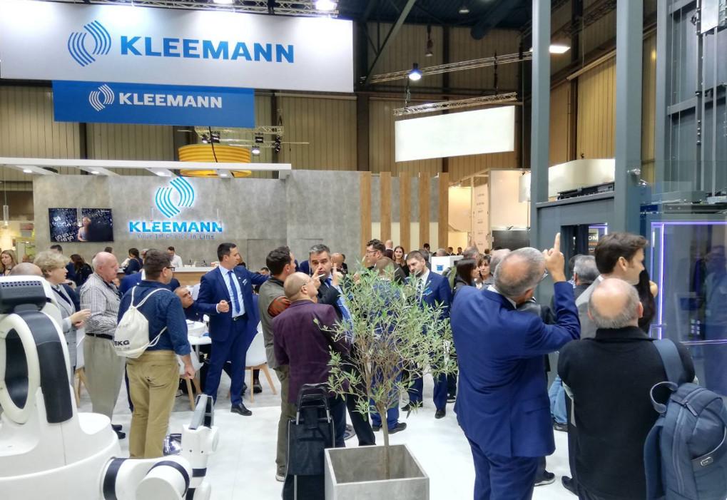 Kleemann: Με ισχυρή παρουσία στην Interlift
