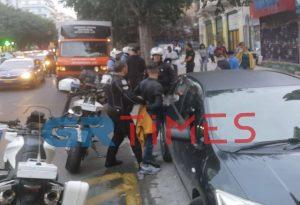 Τώρα: Σύλληψη για κλοπή κινητού στην Εγνατία (ΦΩΤΟ)