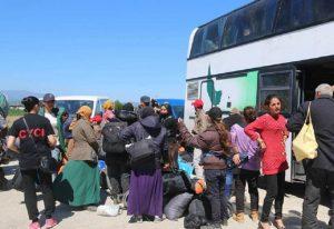 Μετανάστες: Που πηγαίνουν τους 215 της Μυτιλήνης