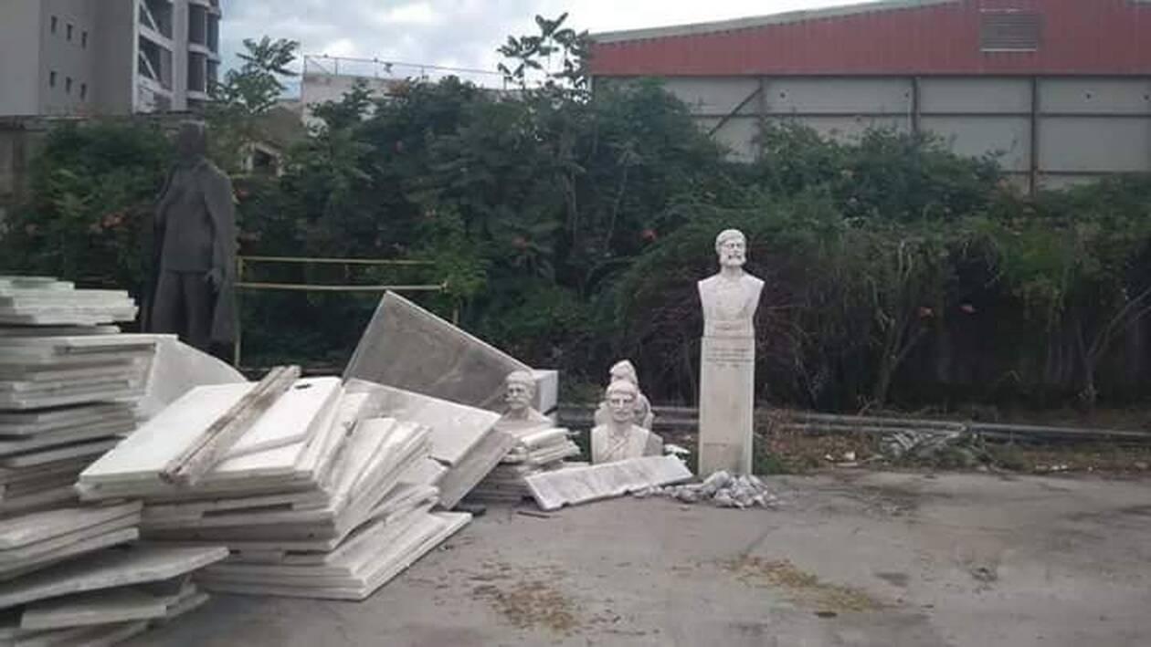 Επιστρέφουν στη θέση τους οι προτομές των Μακεδονομάχων