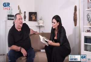 Β. Καρράς στο GrTimes: Έχω μάθει να λέω συγνώμη, είναι αντρική λέξη (VIDEO)