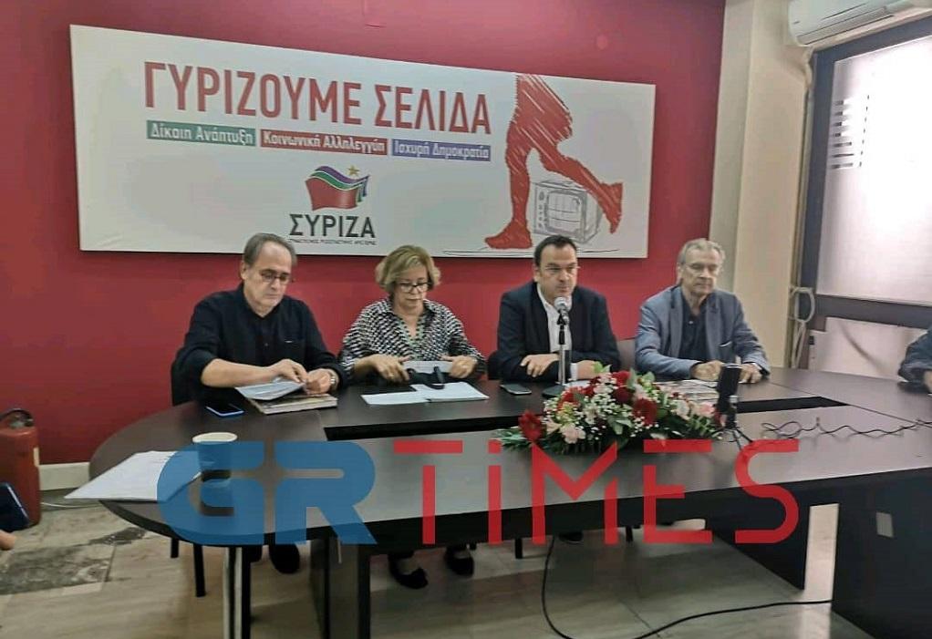 ΣΥΡΙΖΑ Θεσσαλονίκης: Ετοιμάζει προσφυγές για τα αρχαία της Βενιζέλου