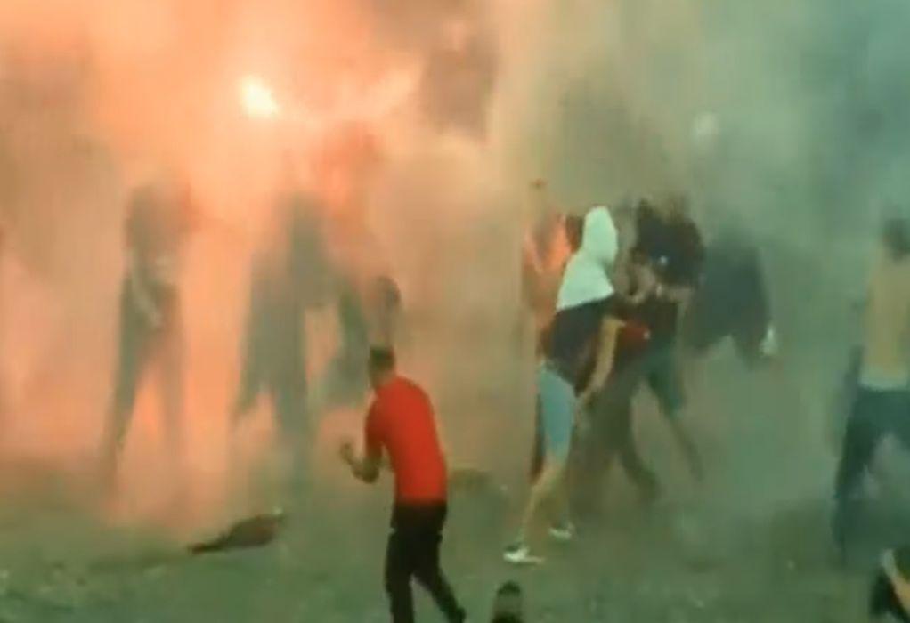 Μάχες σώμα με σώμα σε ντέρμπι στα Βαλκάνια (VIDEO)