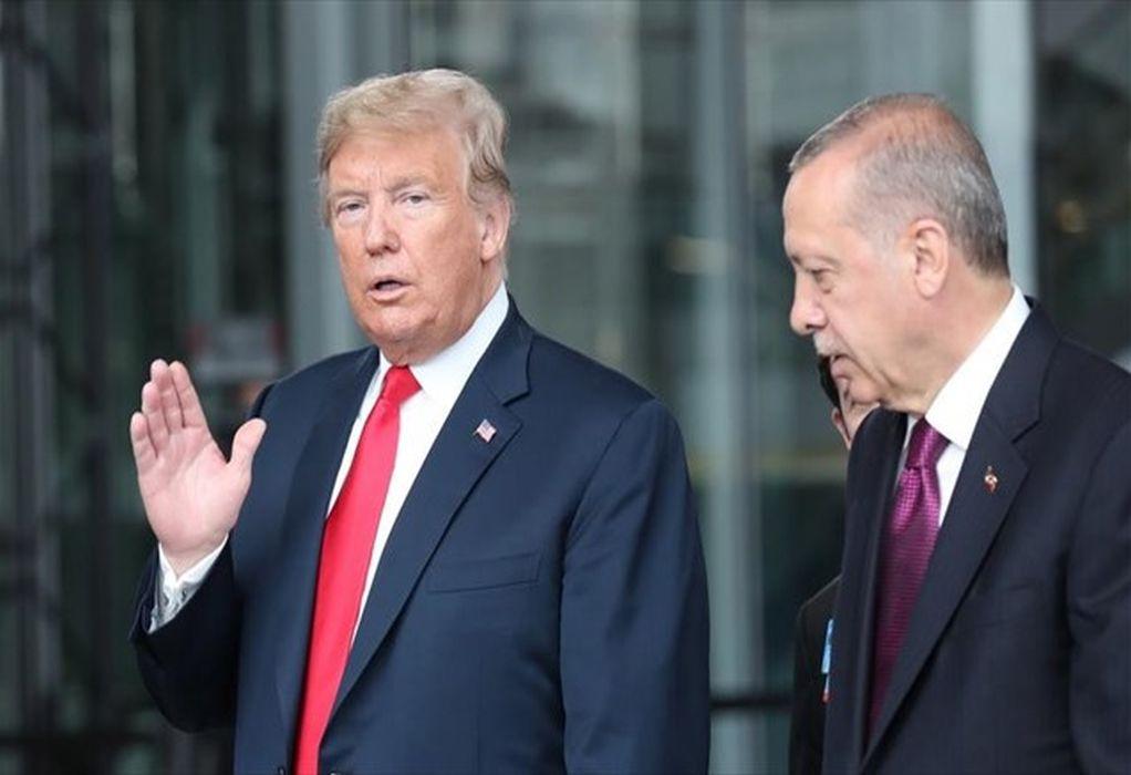 Τραμπ – Ερντογάν: Η συνέντευξη Τύπου μετά το… παζάρι! (VIDEO)