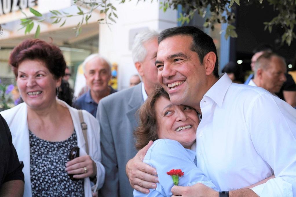 Αλ. Τσίπρας: Αρχίζει μακρά πορεία συνομιλίας με τον λαό (ΦΩΤΟ)