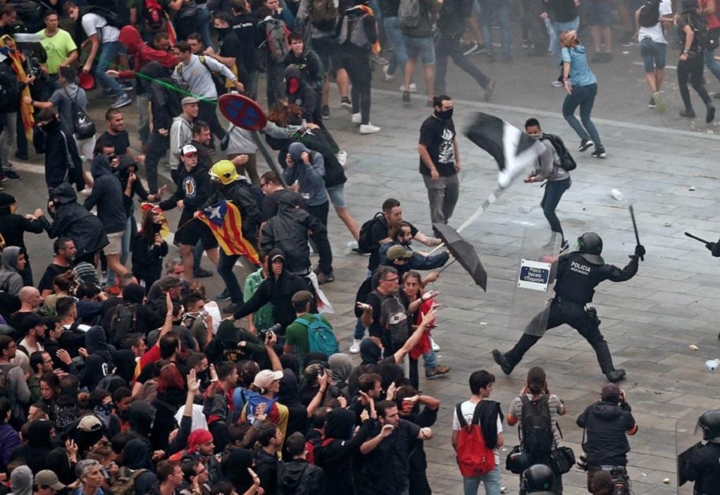 Βαρκελώνη: 78 τραυματίες από επεισόδια