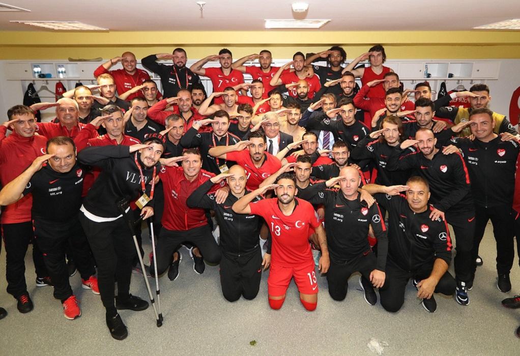 Παγκόσμιος σάλος με τον στρατιωτικό χαιρετισμό Τούρκων Αθλητών