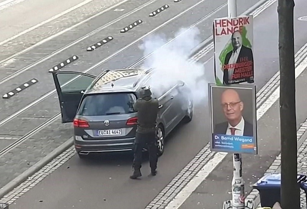 Γερμανία: Δύο νεκροί έξω από συναγωγή (VIDEO)