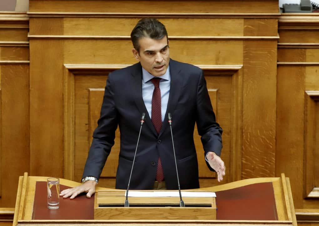 Κούβελας στη Βουλή: Έντονη η εγκληματικότητα στη Θεσσαλονίκη