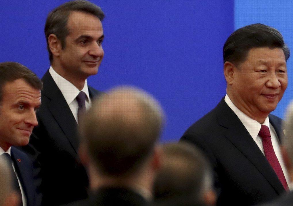 Συνάντηση Κυριάκου Μητσοτάκη με τον Πρόεδρο της Κίνας