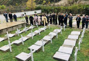 Αλβανία: Ταφή οστών 193 Ελλήνων πεσόντων του έπους του '40