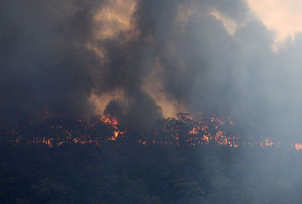 Καταστροφικές φωτιές στην Αυστραλία