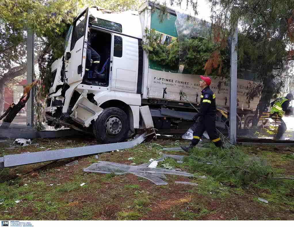 Κυκλοφοριακά προβλήματα στη Λεωφόρο Κηφισού λόγω εκτροπής φορτηγού