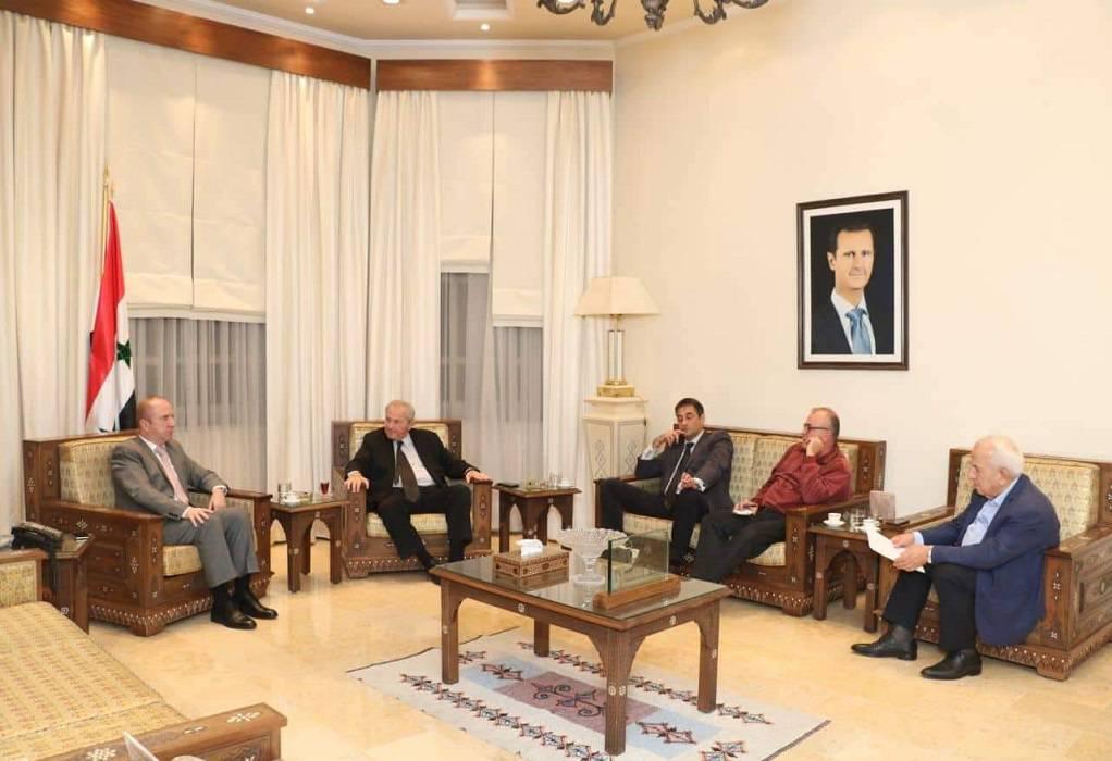 Μνημόνιο συνεργασίας για Ελλάδα-Συρία