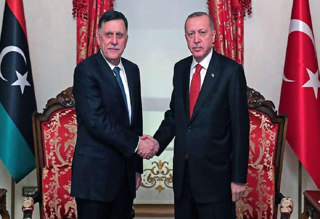 Νέα συνάντηση Ερντογάν με τον αλ – Σάρατζ