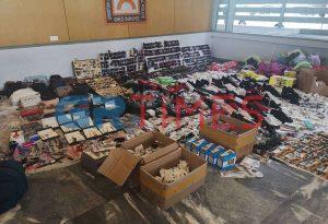 Δήμος Θεσσαλονίκης: Κατέσχεσε 15 τόνους προϊόντων παρεμπορίου (ΦΩΤΟ-VIDEO)