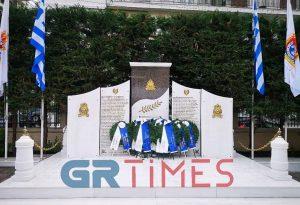 Θεσσαλονίκη: Τίμησαν τους πεσόντες του Πυροσβεστικού Σώματος (ΦΩΤΟ-VIDEO)
