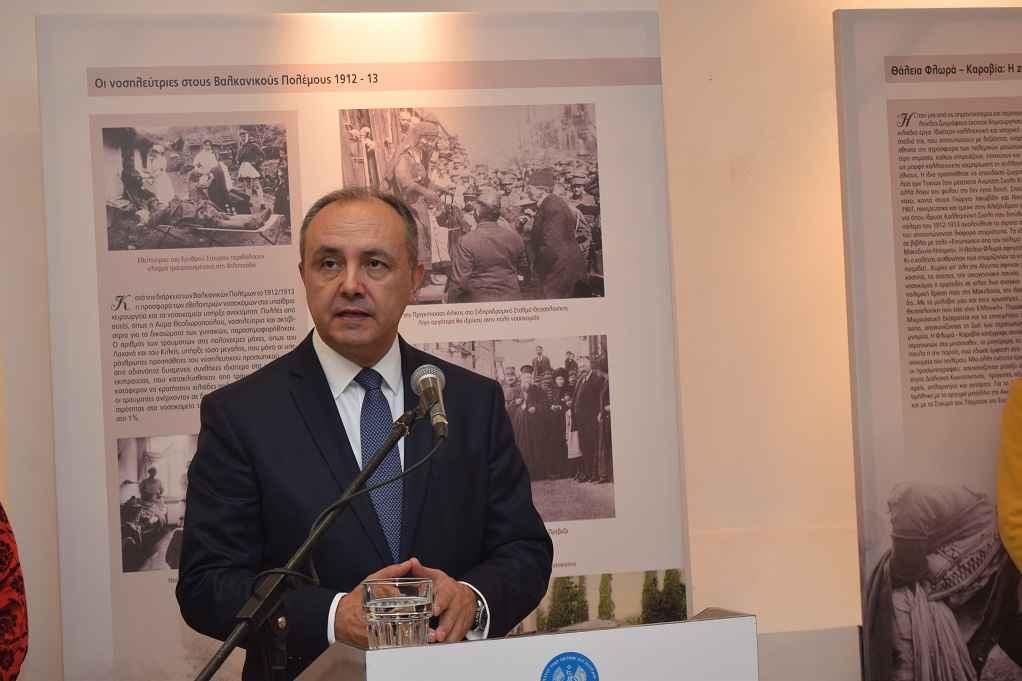 Θ. Καράογλου: Θα εγκαινιάσει έκθεση στον Πολύγυρο