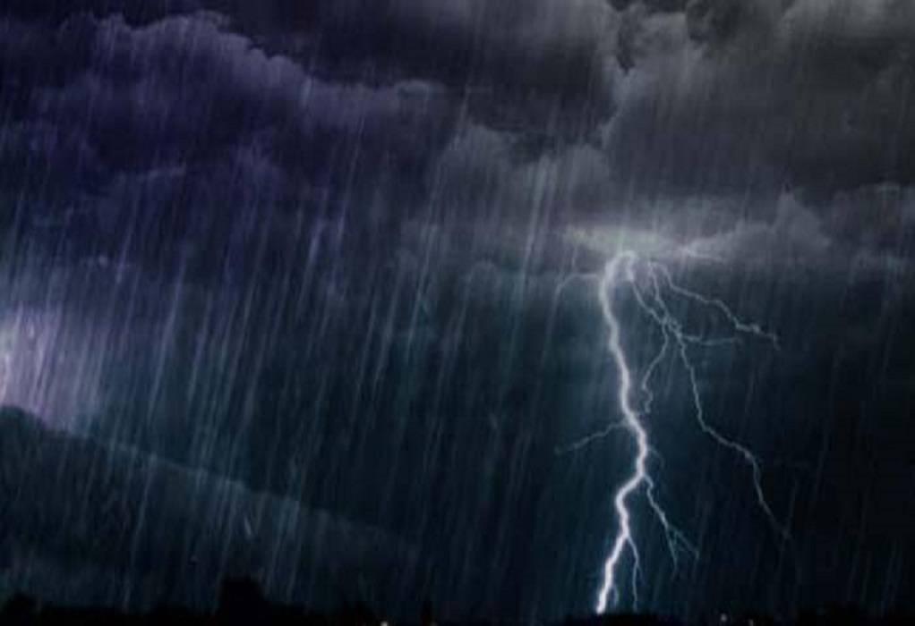 Έρχονται καταιγίδες και χαλάζι- Έκτακτο δελτίο από την ΕΜΥ