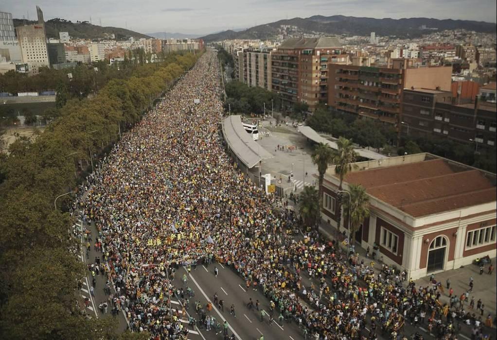 Καταλανοί έκλεισαν τον δρόμο Γαλλίας-Ισπανίας