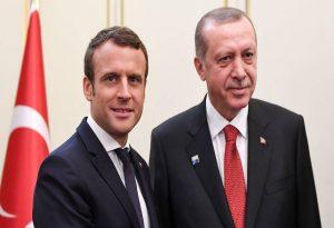 Προειδοποίηση Μακρόν σε Ερντογάν για τη Λιβύη