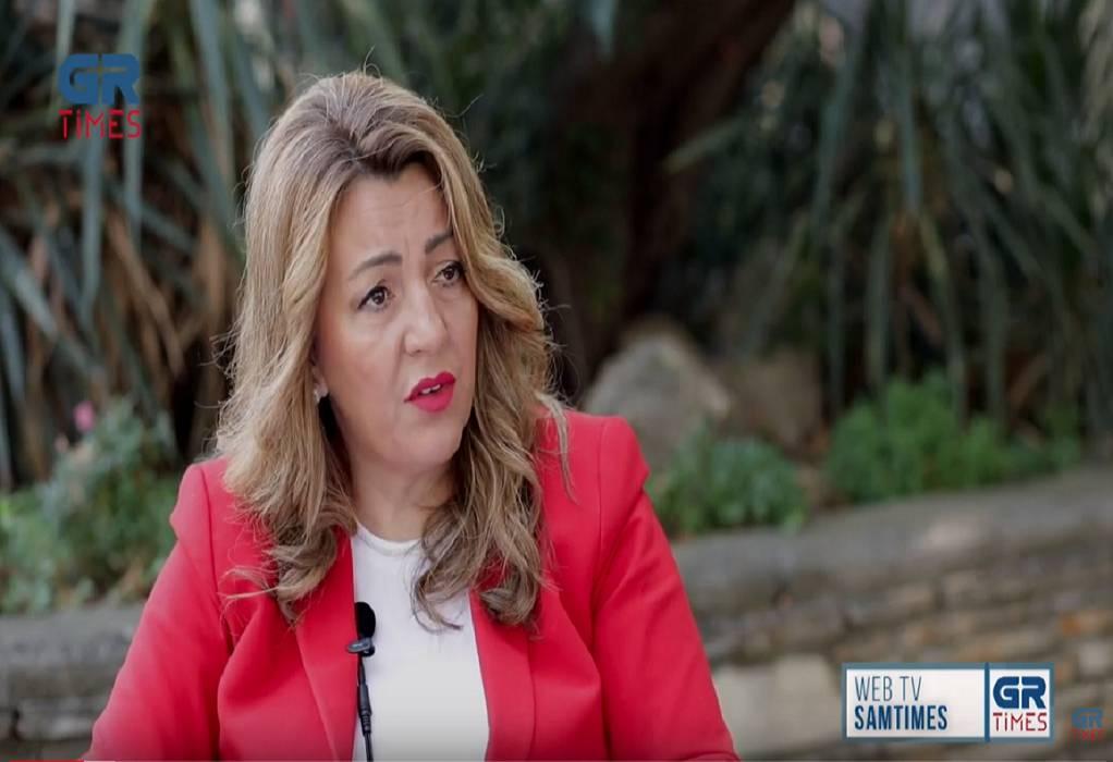 Μ.Αντωνίου:Το ενδιαφέρον μας για την Μακεδονία δεν είναι μόνο στα λόγια (VIDEO)