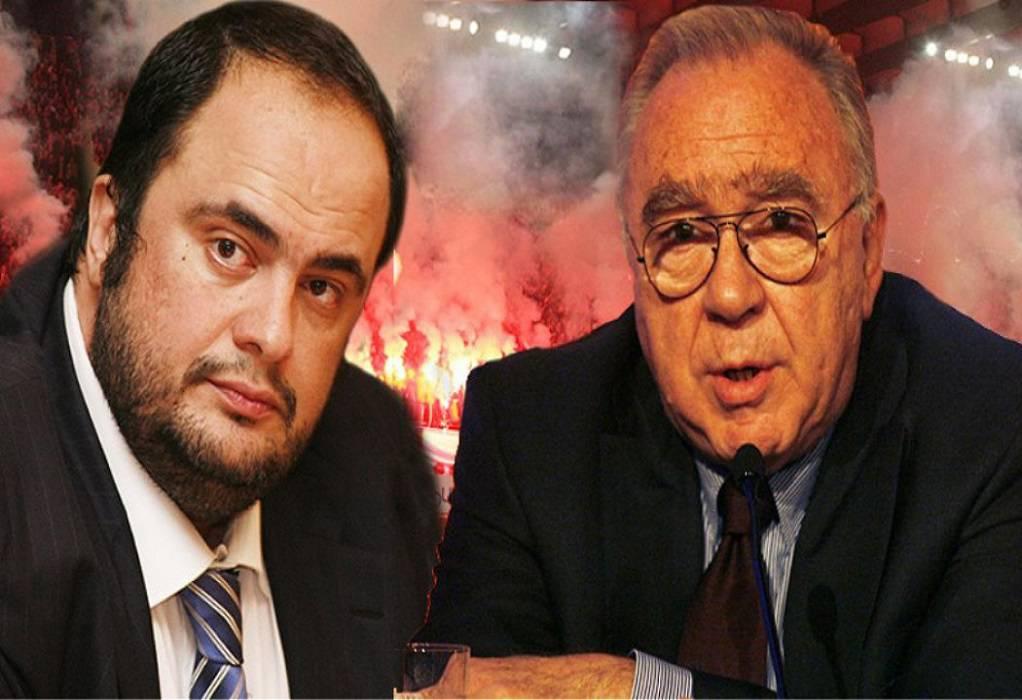 Κόκκαλης-Μαρινάκης: «Πινγκ-Πονγκ» επιστολών – Μεγαλώνει η κόντρα
