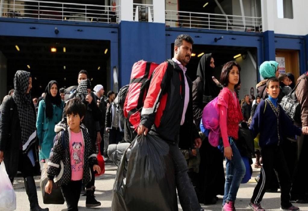 Στο Λαύριο πρόσφυγες από νησιά του αν. Αιγαίου