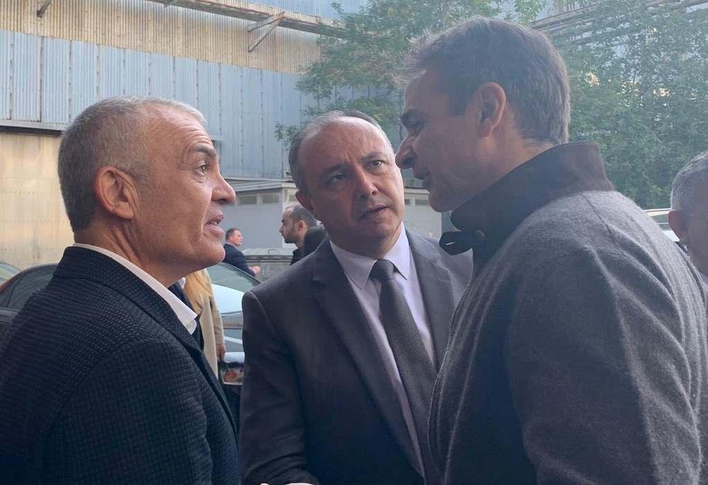 Συνάντηση του Κ. Μητσοτάκη με τον Δήμαρχο Δέλτα